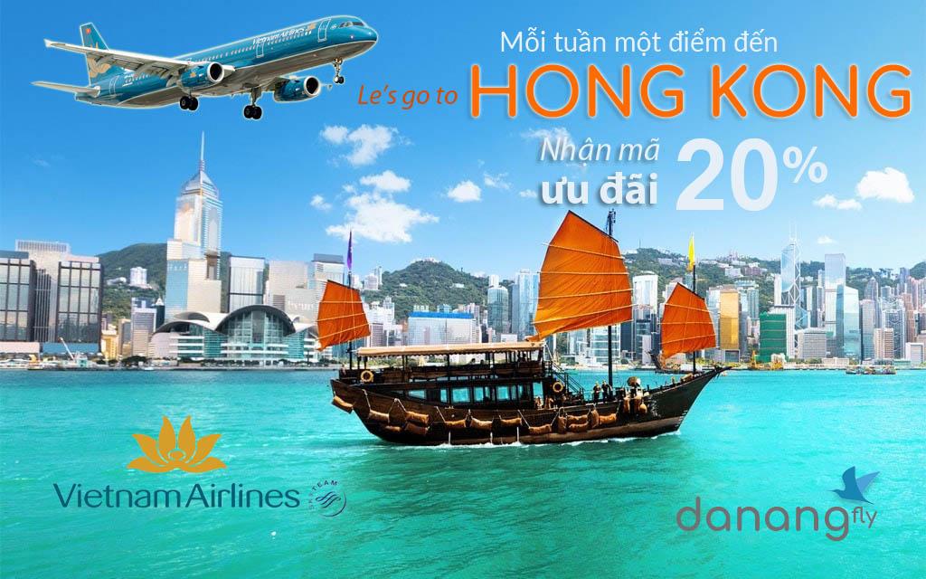 Khuyến mãi đi Hong Kong ưu đãi 20%