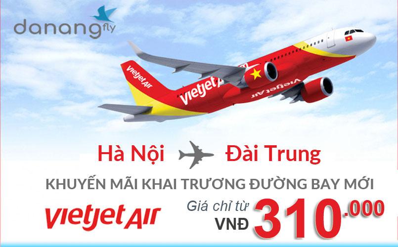 Vietjet Air khuyến mãi đường bay mới
