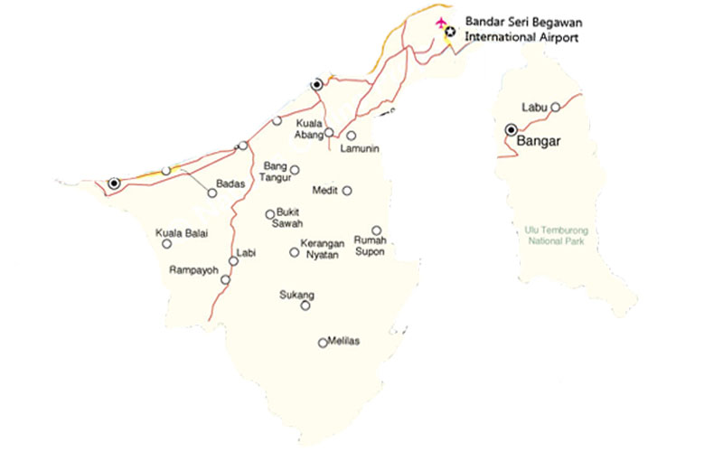 ban-do-cac-san-bay-tai-brunei