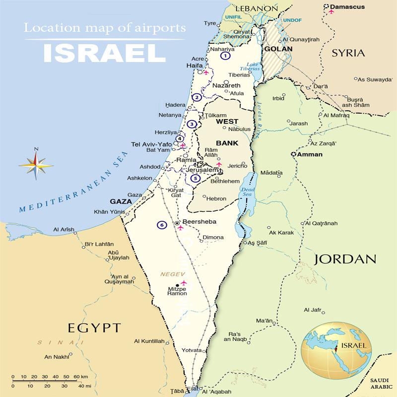 danh-sach-cac-san-bay-tai-israel